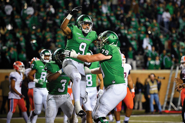 UNT vs. UTEP  (Photo by Michael Clements)