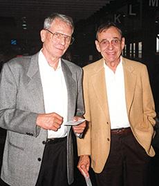 Paul Voertman and Richard Ardoin