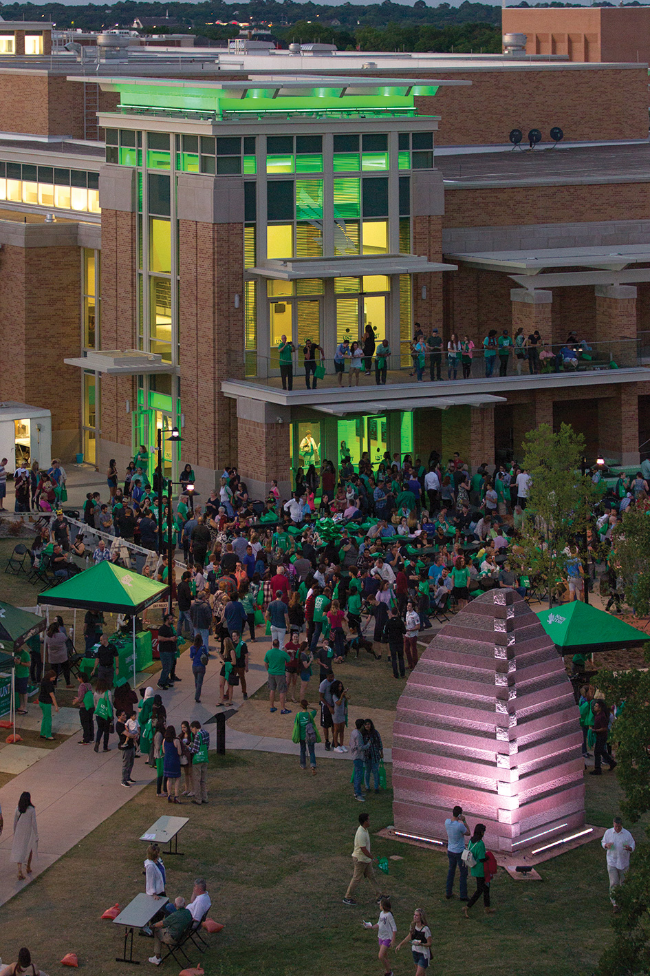 UNT Graduation Block Party (Photo by Gary Barber)