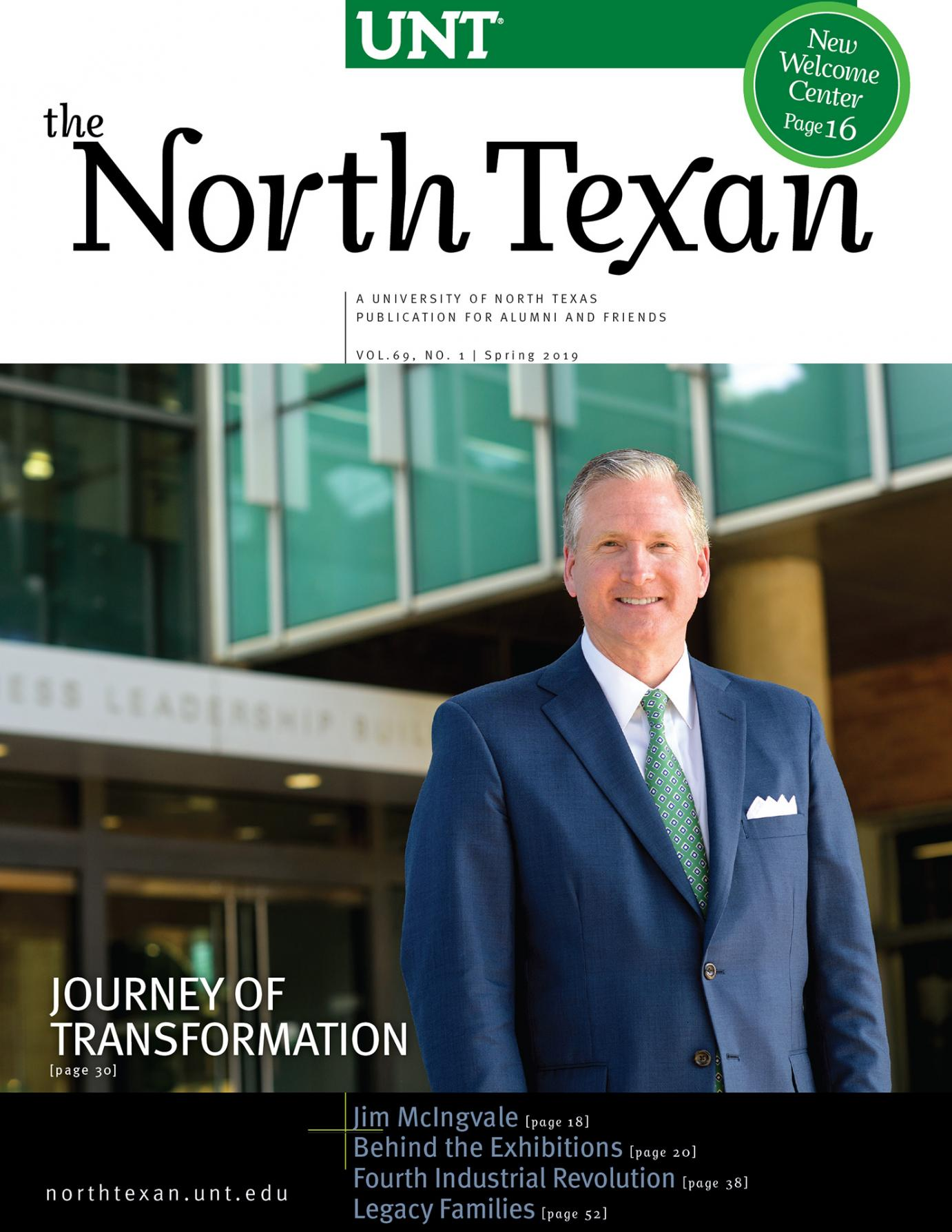 North Texan Spring 2019 cover feature G Bring Ryan