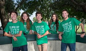 From left: Emilio, Enna, John, Maria and George Diaz.  (Photo by Ahna Hubnik)