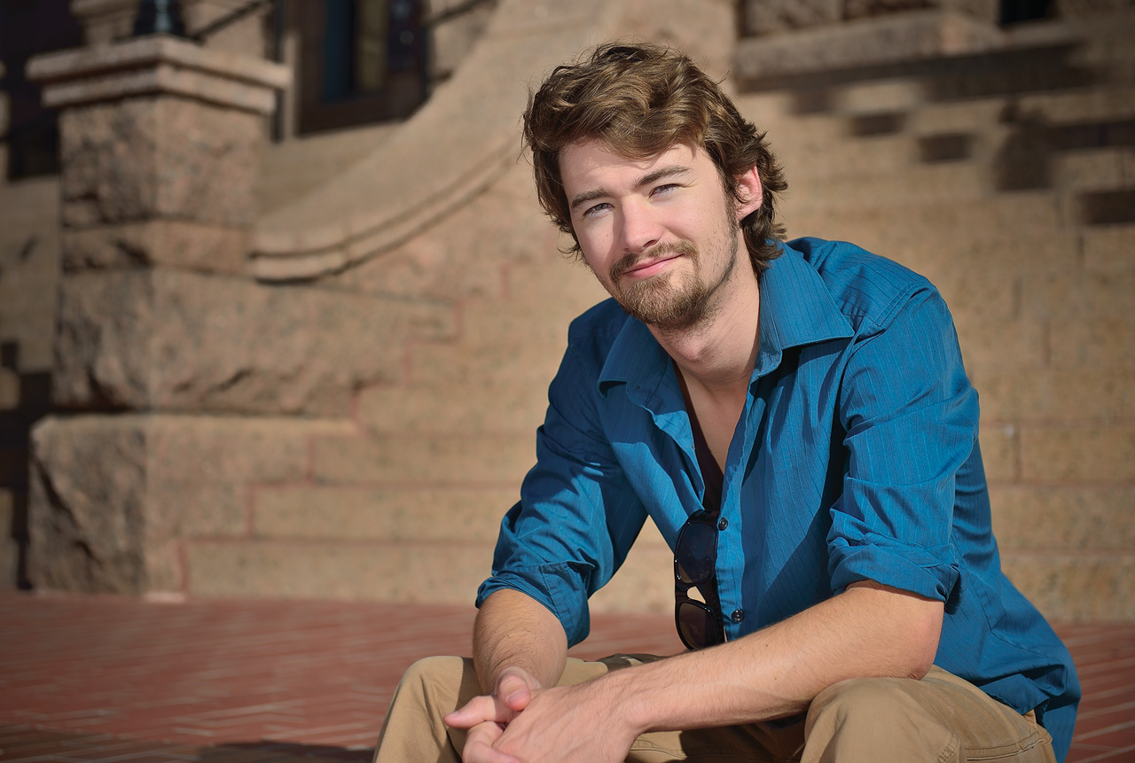 Andrew McLemore ('10) (Photo by Michael Clements)