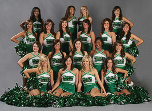 The North Texas Dancers. (Photo by Kent Jackson)