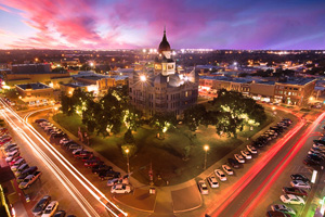 Denton Square (Photo by Stephen Masker)