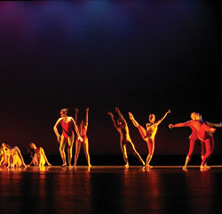 Dancers performing Jenna Fisher's Euphoric Zone