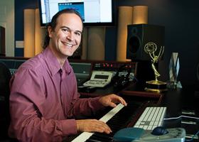 Composer Kristopher Carter ('93) (Photo by Renée Vernon)