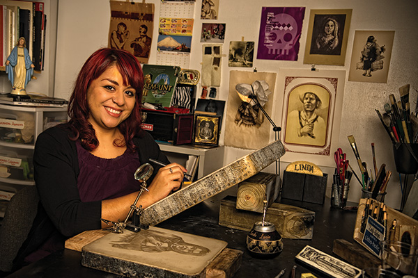 Linda Lucía Santana (Photo by Angilee Wilkerson)