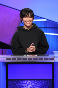 Monica Thieu (images courtesy of Jeopardy! Productions)