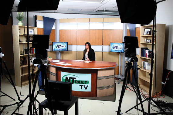 NTDaily television set