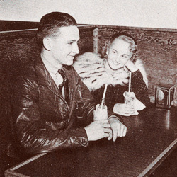 A couple from North Texas in the 1938 <em>Yucca</em>.