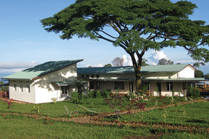 The Village Health Works clinic in Kigutu, Burundi. (Courtesy of Village Health Works)