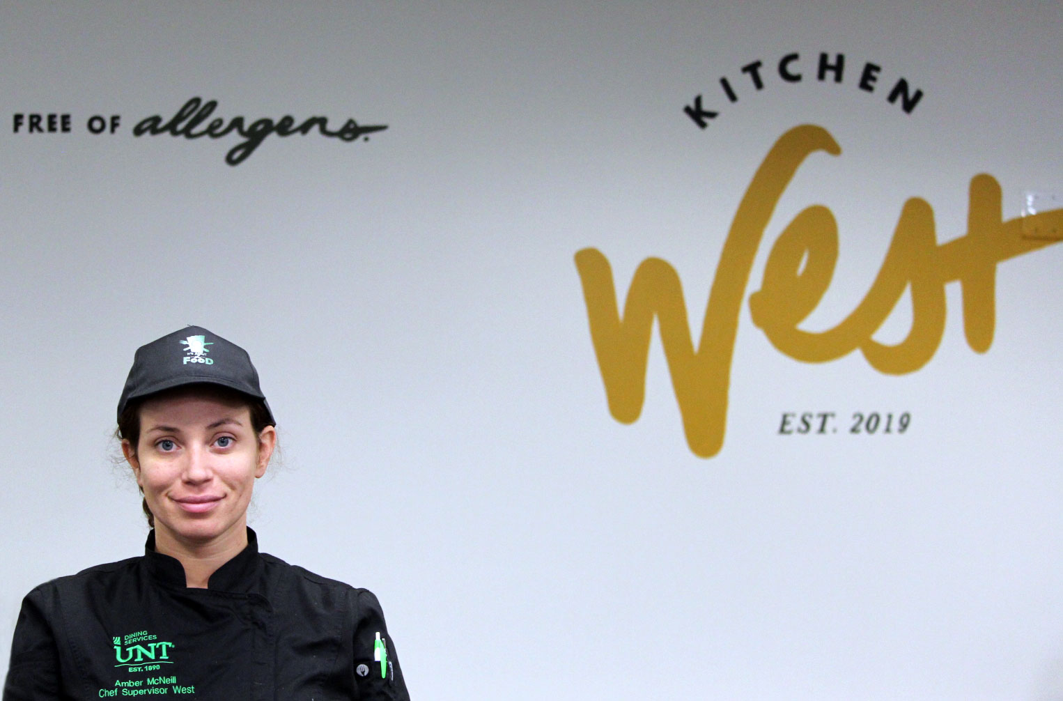 Amber Duncan at Kitchen West
