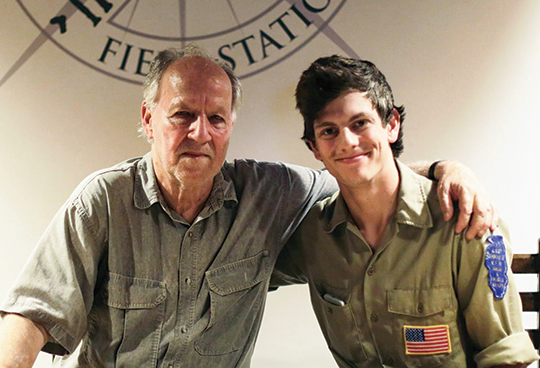 Werner Herzog and Caleb Spaw