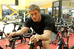 Jessie Pavelka on <em>DietTribe</em> (photo credit: Lifetime Television)