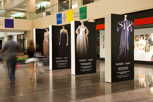 Visions of Style from the Texas Fashion Collection on display NorthPark Center. (Photo by Michael Clements)