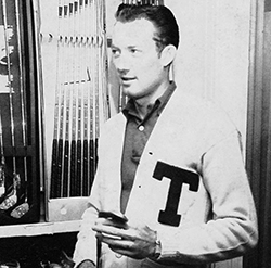 Don January in the 1952 Yucca yearbook