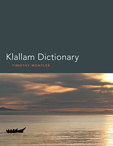 Klallam Dictionary bookcover