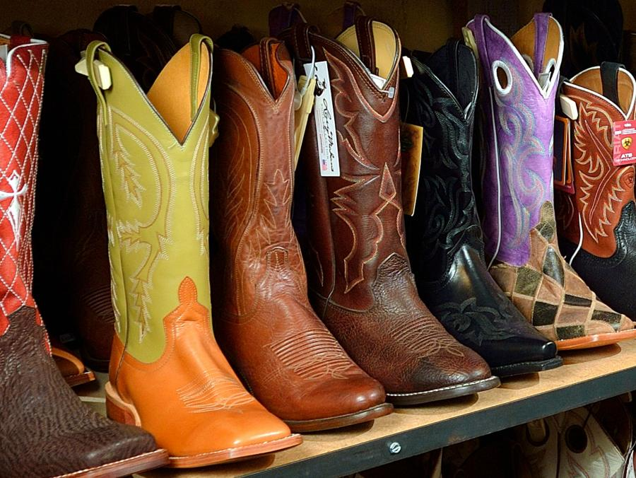 <p>Boots from Cavender's</p>