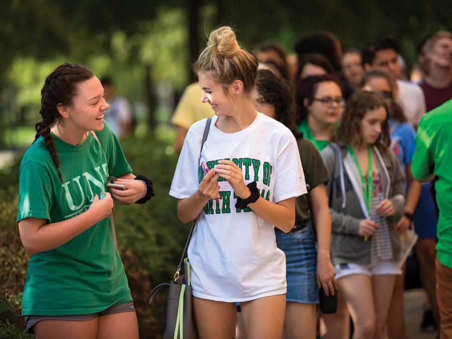 <p>UNT students</p>