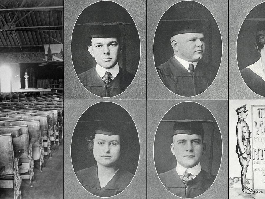 UNT graduate photos from 1919