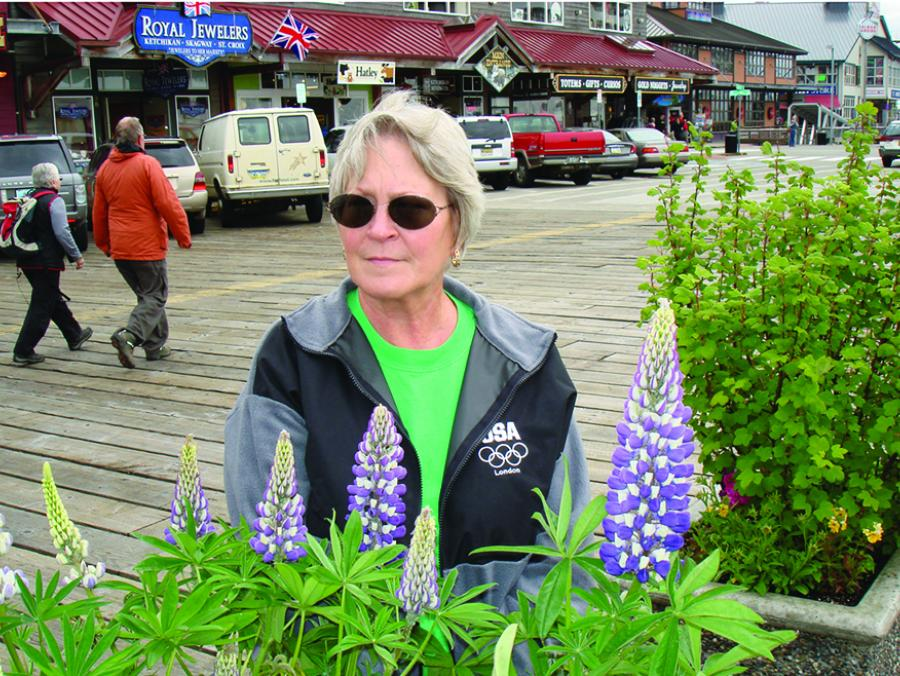<p>Ann Supina in Alaska</p>