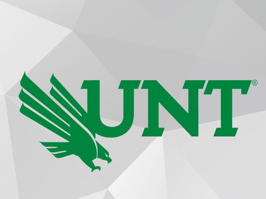 UNT logo on gray background