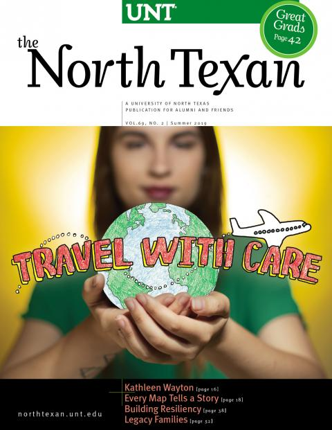 North Texan Summer 2019 cover - Travel with Care