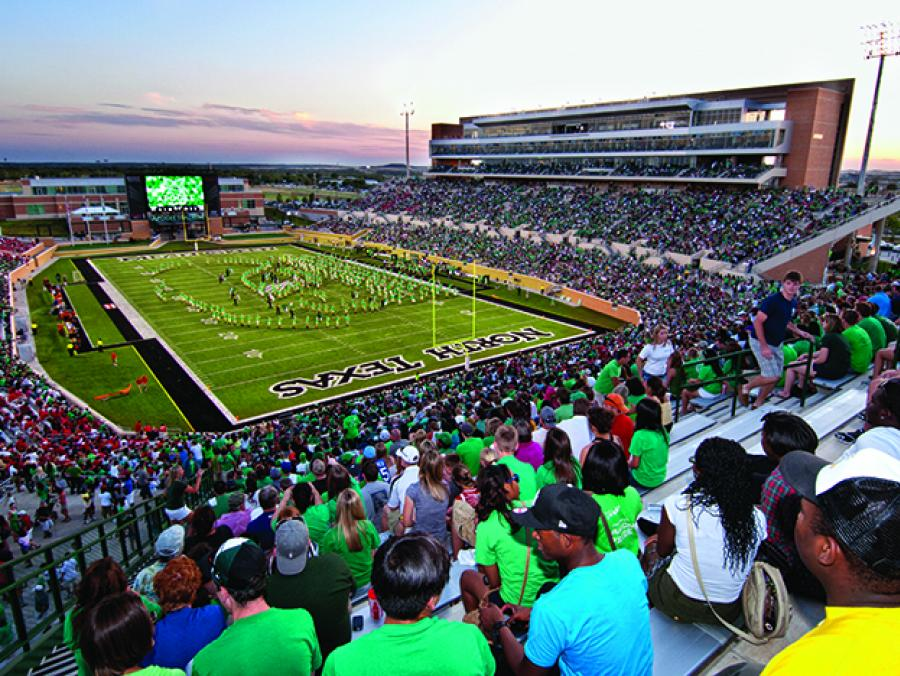 Fans at Apogee Stadium