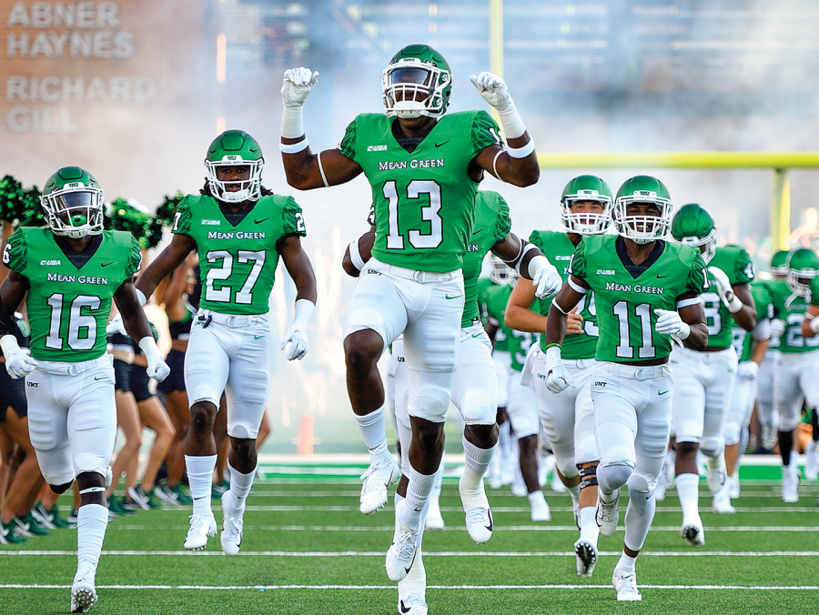 <p>Mean Green Football</p>