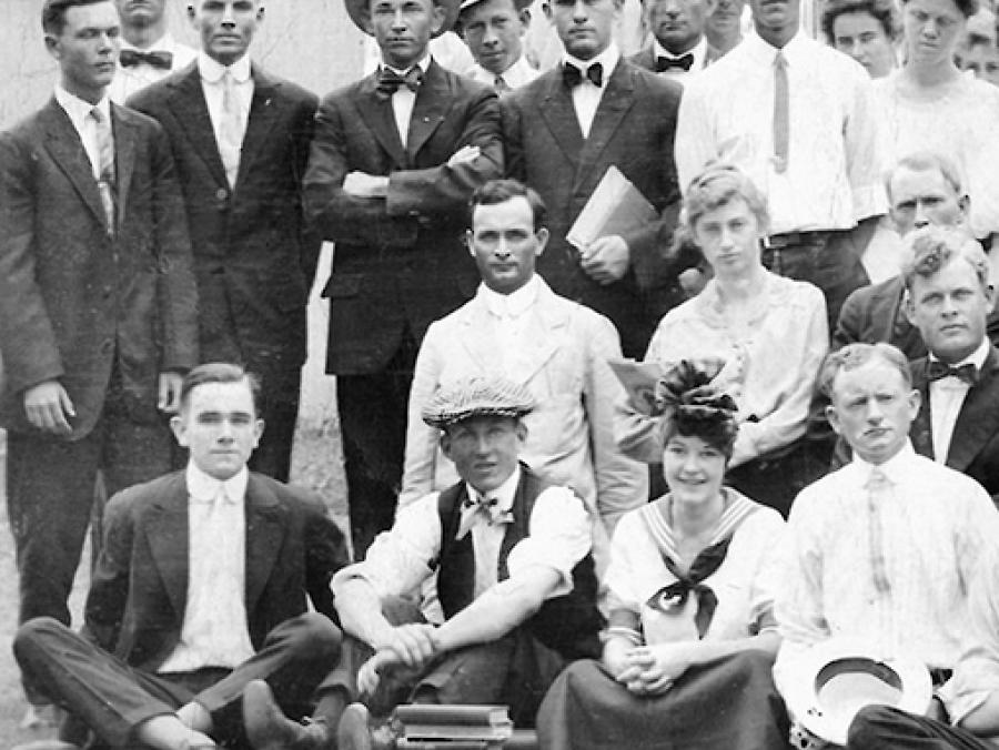 <p>North Texas Normal College Class of 1915</p>