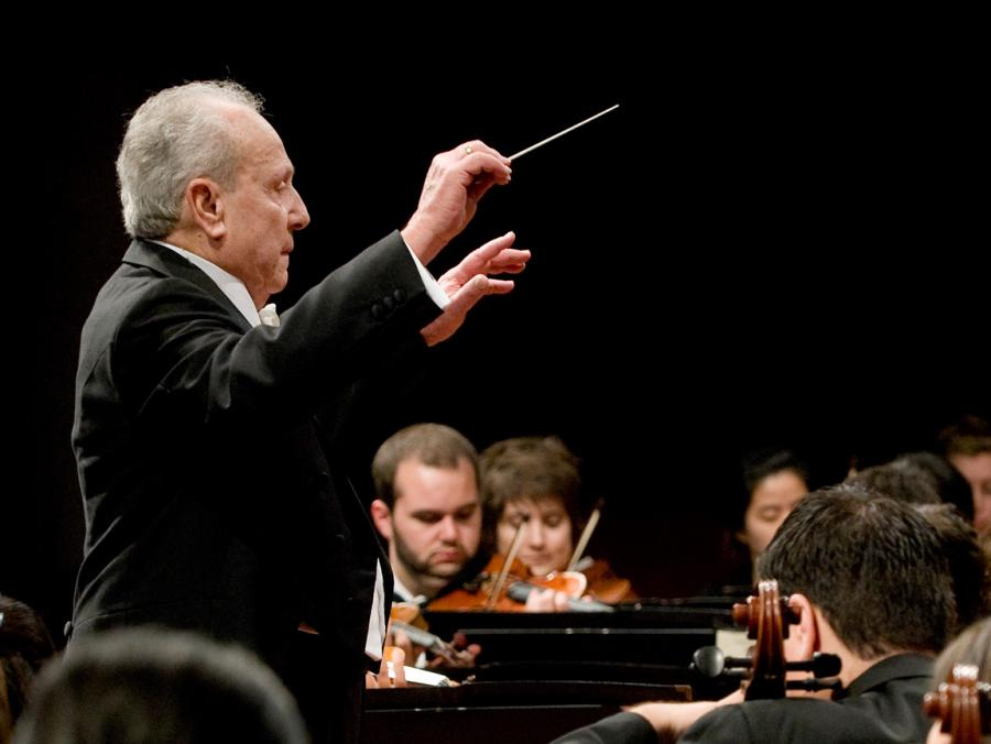 Anshel Brusilow conducting