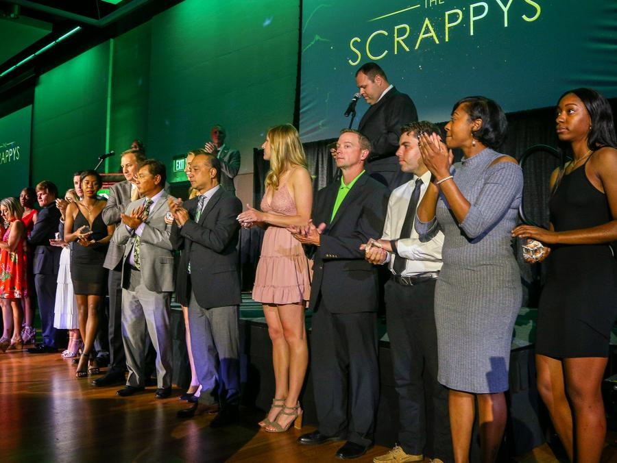2018 Scrappy Awards. Photo by Rick Yeatts
