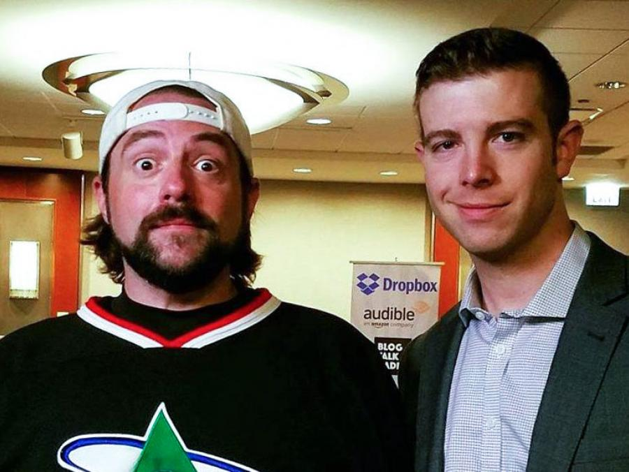 <p>Kevin Smith and Dan Franks</p>