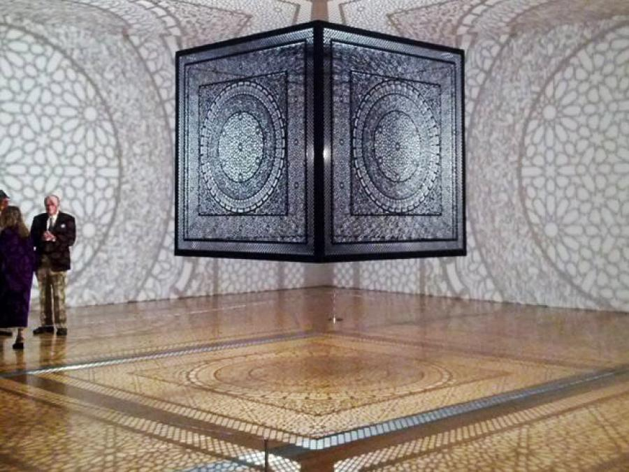 <p>Intersection artwork by Anila Quayyum Agha</p>