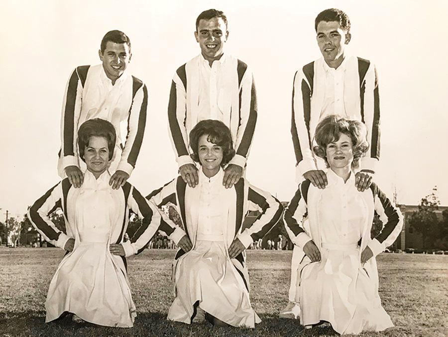 1964 UNT cheerleaders