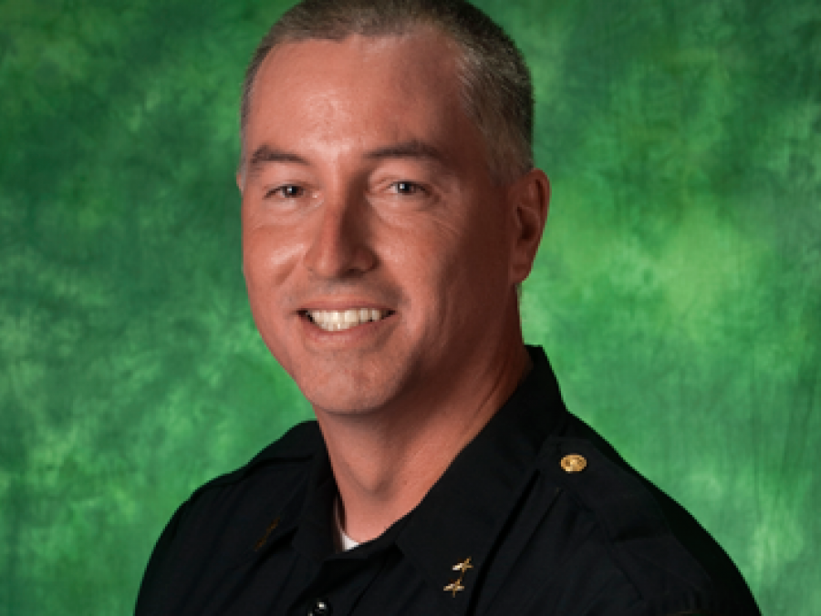 UNT Police Chief Ed Reynolds