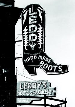 Leddy Brothers, Fort Worth Stockyards, 1988